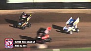 Highlights: World of Outlaws STP Sprint Cars Beaver Dam Raceway June 28th, 2014