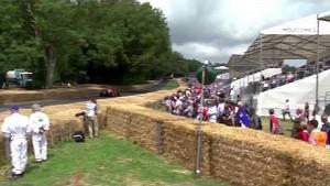 Pedro de la Rosa storms Goodwood in Ferrari F60 F1 car | Festival of Speed 2014