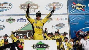 Victory Lane: Brad Keselowski wins NNS race at New Hampshire