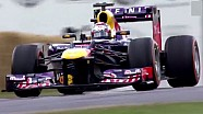 Faster than Loeb? Sebastien Buemi, Festival of Speed, Red Bull RB7 F1 - sub 45 second run!