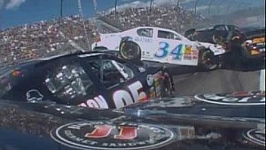 NASCAR - Big Crashes At Watkins Glen Through The Years (August 7 2010)