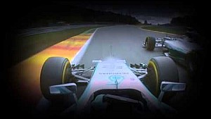 Rosberg hits Hamilton - Includes onboard view