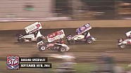 Highlights: World of Outlaws STP Sprint Cars Kokomo Speedway September 16th, 2014