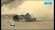 Coulthard massive Bathurst flip