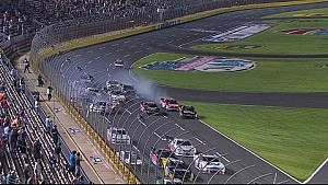 Green-flag pileup at Charlotte