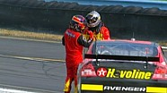 Montoya and Harvick heated exchange - 2007 Watkins Glen