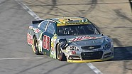 Earnhardt Jr. wrecks in first GWC attempt