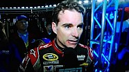 Jeff Gordon calls Brad Keslowski a dipshit during a post-race interview at Texas