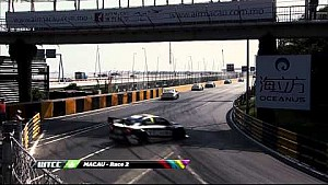 Bennani, Morbidelli and Ma crash in Macau
