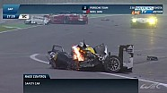Full version: WEC 6 Hours of Sao Paulo 2014: huge crash of Mark Webber and Matteo Cressoni