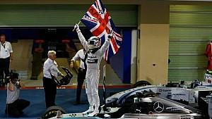 Lewis Hamilton, 2014 Formula One World Champion!