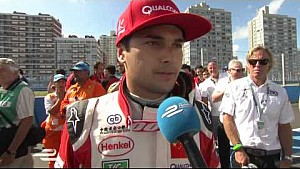Punta del Este ePrix Nelson Piquet Junior post-race interview