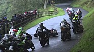 Scarborough Road Races 2013 - Bruce Anstey high side crash