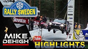 Rally Sweden - Big jumps and long slides