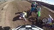 High side at Motocross Track Day