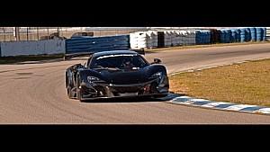 K-PAX Racing / Flying Lizard pre-season testing 2015