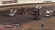 Aspectos destacados: World of Outlaws Sprint Cars EE.UU. Raceway 07 de marzo 2015