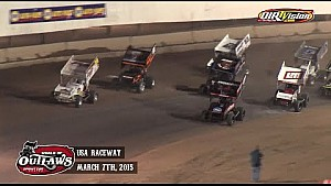 Highlights: World of Outlaws Sprint Cars USA Raceway March 7th, 2015