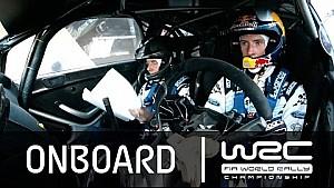 WRC Rally Guanajuato México 2015: Onboard Evans SS17