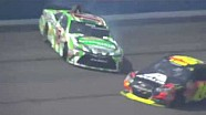Jeff Gordon y David Ragan en Fontana