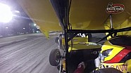 World of Outlaws On-Board: Joey Saldana | Stockton Dirt Track | March 21, 2015