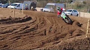 More footage of Ryan Villopoto training - Lommel