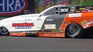 NHRA TAFC driver Jonnie Lindberg sets national record in Charlotte