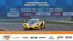 GT4 European Series - Race 1 - Nogaro 2015
