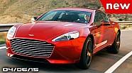 Aston Martin EV, Cadillac XTS Dead, Mercedes Panamera Rival - Fast Lane Daily