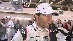 Interview with Mark Webber after Porsche NO. 17 pole posittion