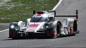 2015 Audi R18 Le Mans aero kit: high speed fly bys