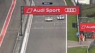 Stéphane Sarrazin powers around Bonanomi in the Audi to move into P4