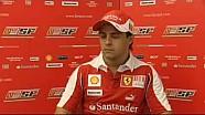 Felipe Massa presenta il Gp di Singapore