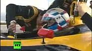 Putin al volante della Renault di Formula 1!
