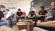 Formula E drivers visit Solar Impulse in Monaco