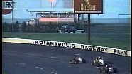 Jeff Gordon wins USAC Midgets heat race in 1990