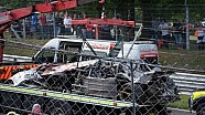 Huge NASCAR Whelen Euro Series Crash Brands Hatch
