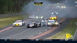 Big crash for #8 Audi - 24 Hours of Le Mans