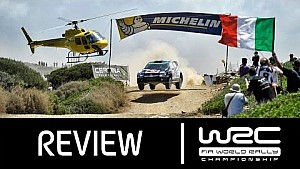 WRC - Rally Italia Sardegna 2015: Review Clip