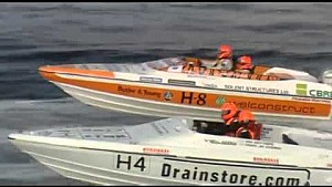 2008 Honda Formula 4-Stroke powerboat Series IoM-150hp-P10