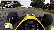 Driver's Eye: Williams FW13B at Goodwood