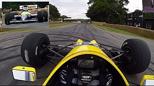 Driver's Eye View: Williams FW13B at Goodwood