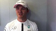 Nico Rosberg sums up his British Grand Prix at Silverstone
