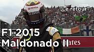 F1 2015 - En route avec Pastor Maldonado au Canada !