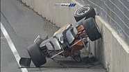 Michele Beretta flips at the Norisring