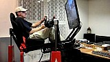 Full motion racing simulator