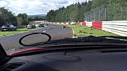 Massive crash of a Renault Megane on the Nurburgring Nordschleife