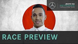 Lewis Hamilton 2015 Japanese Grand Prix Preview, with Allianz