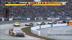 Matt Kenseth wrecks Joey Logano at Martinsville