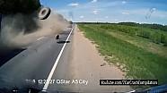 Летающие колеса Подборка ДТП / Flying Car Wheels